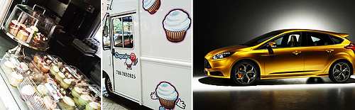 cupcake stop and ford focus