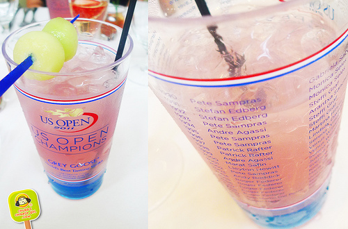 US OPEN 2011 official grey goose drink Aces Restaurant Bar and Grill 13