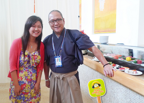 US OPEN 2011 Aces Restaurant Bar and Grill with iron chef Morimoto 5