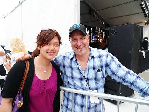 tom colicchio and I (2010)