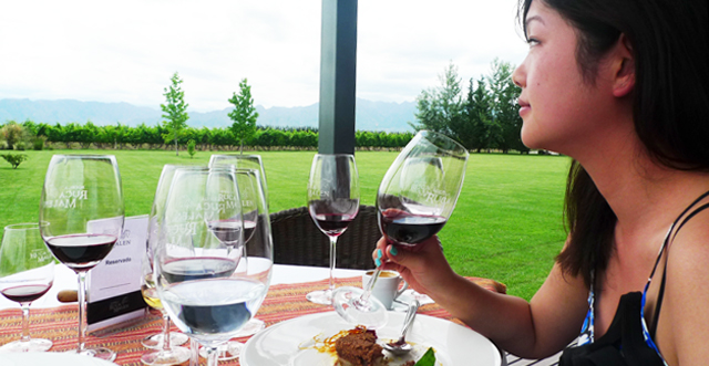[MENDOZA, ARGENTINA]: 5 Course Lunch Tasting by the Vineyards of Bodega Ruca Malen