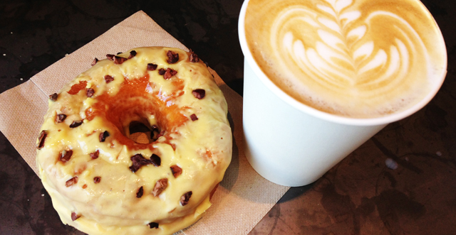 TREEHAUS: Brooklyn's DOUGH doughnuts in the city
