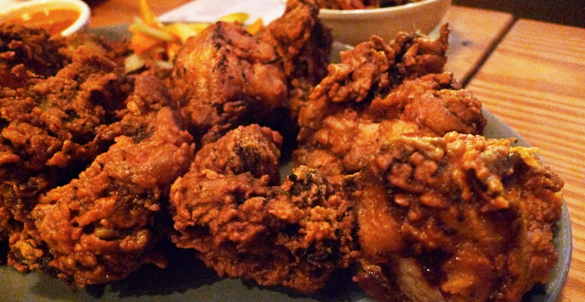 Fatta Cuckoo: Fried chicken with a sweet touch