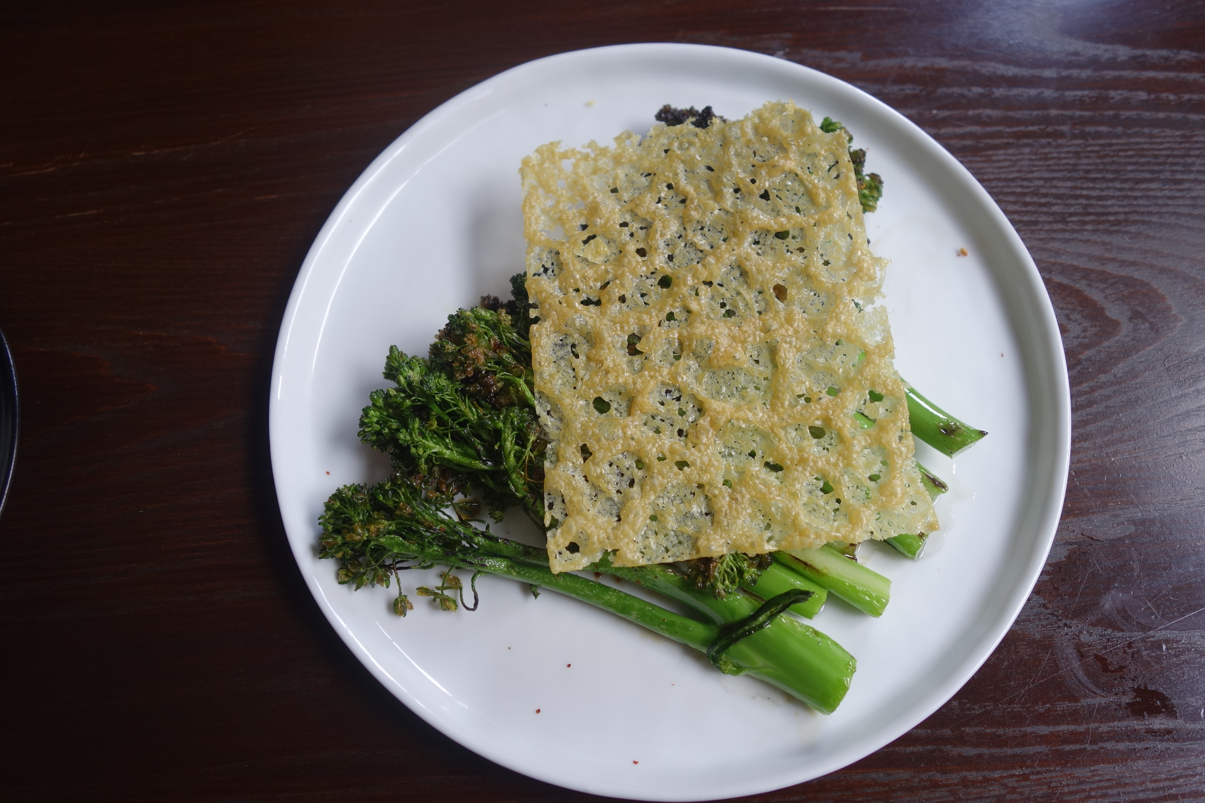 sakamai - charred broccolini